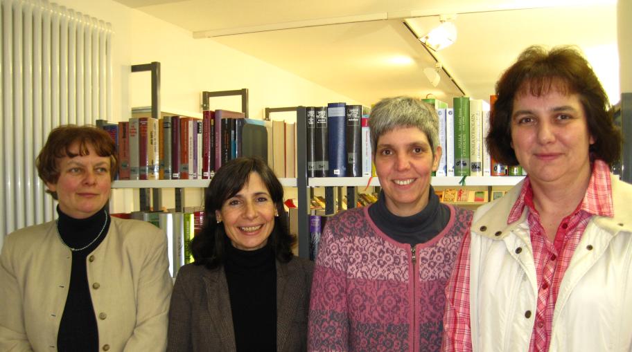 Vorstand, von links nach rechts: Anne Rüter, Eva Gröll-Wachenfeld, Rita Knobbe, Anja Unnewehr
